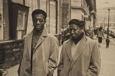 James Baldwin and Beauford Delaney